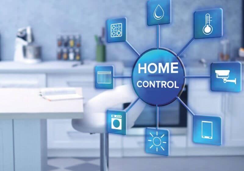 Akıllı Ev Otomasyon Sistemi Görsel