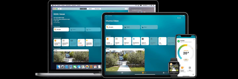 Akıllı Ev Sistemleri Apple Uygulamaları