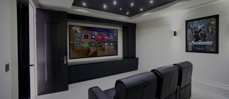 Control4 Türkiye Evde Sinema Sistemi