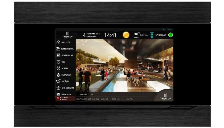 INTERRA Akıllı Ev Sistemleri 10.1' Touch Panel