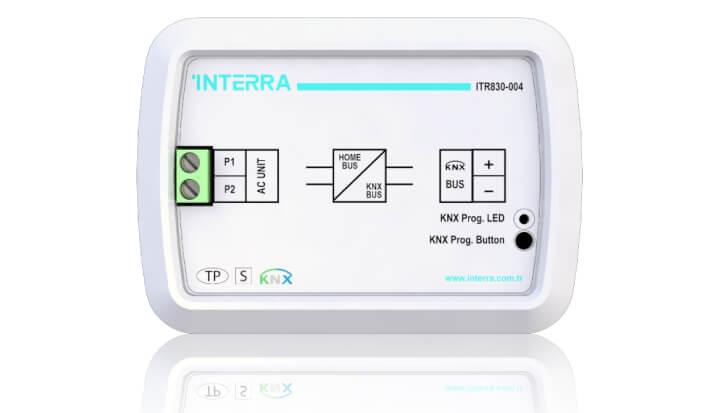 INTERRA Akıllı Ev Sistemleri Mitsubishi Havy KNX Klima Modülü
