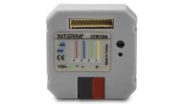 INTERRA Akıllı Ev Sistemleri Buton Arayüzü